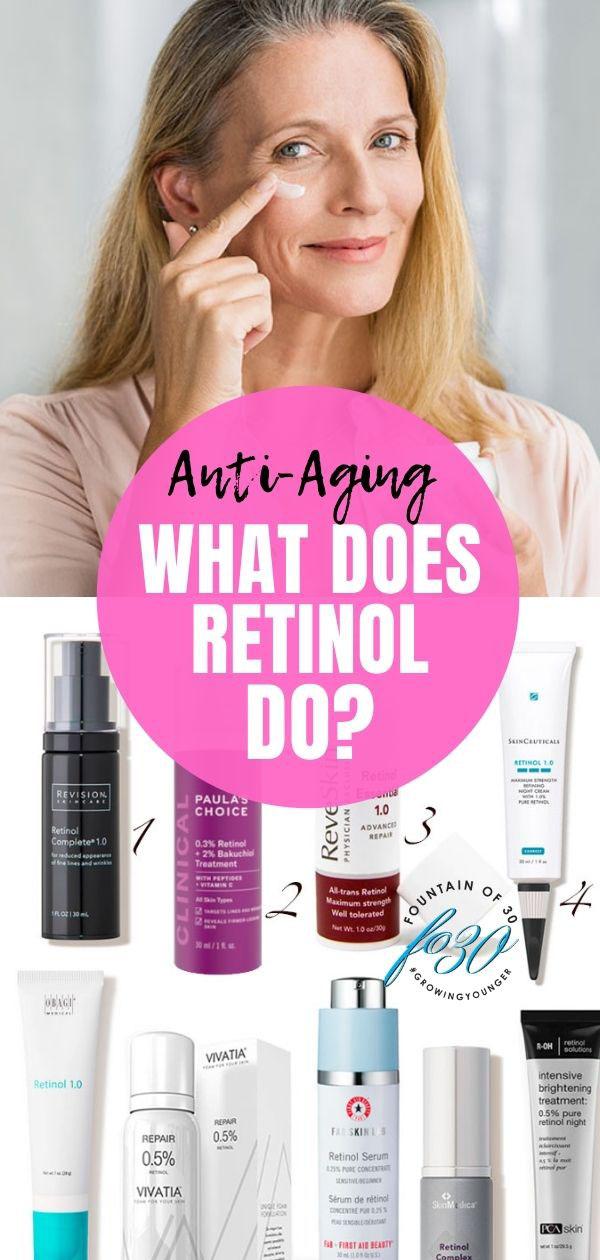 what does retinol do fountainof30