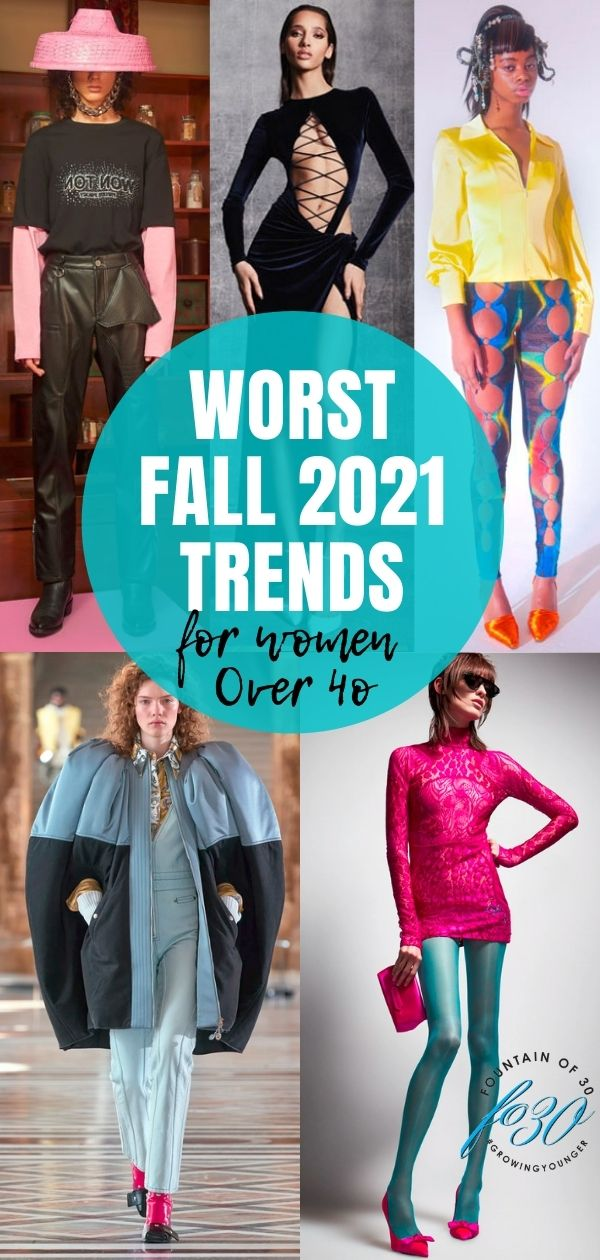 worst fall fashion trends 2021