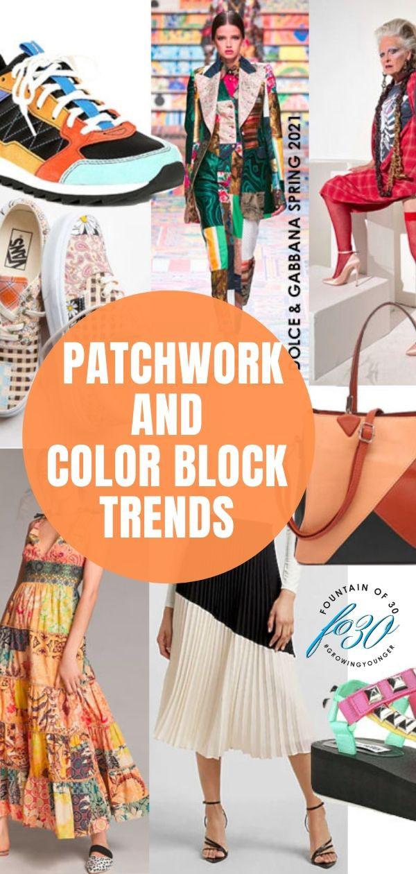 summer trends patchwork color block fountainof30