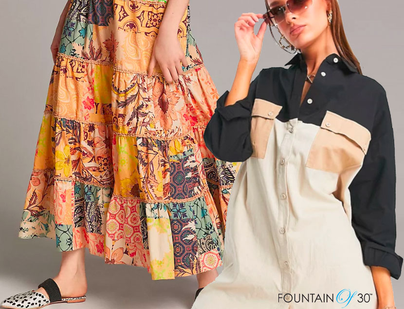 patchwork color block fashion trends fountainof30