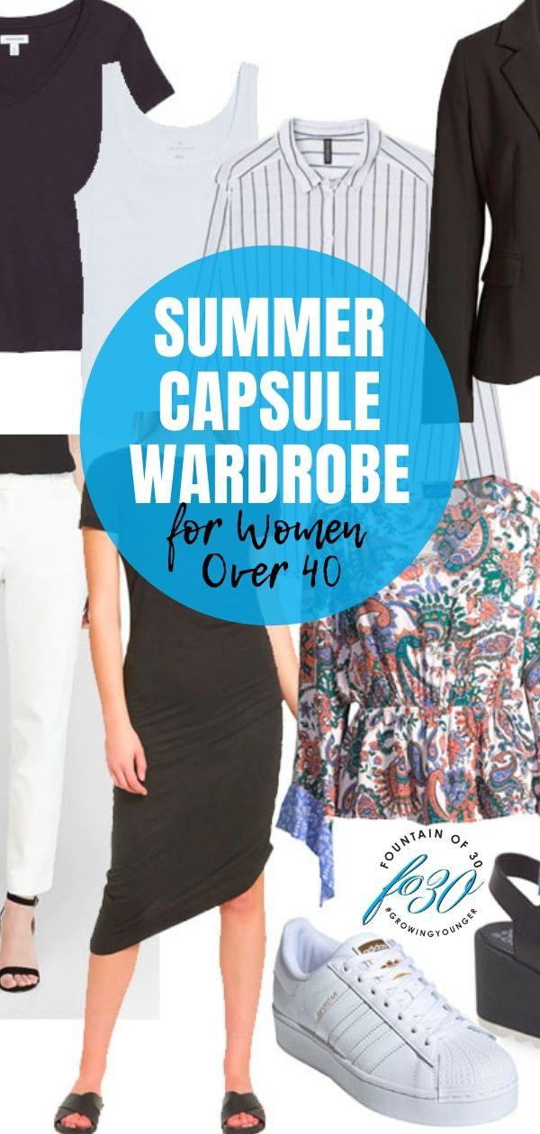 summer capsule wardrobe fountainof30