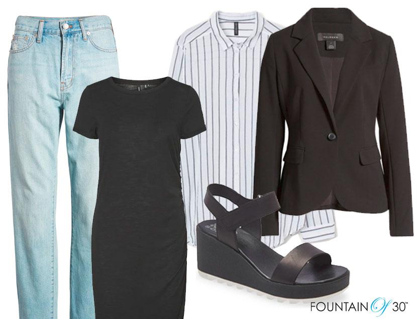 summer capsule wardrobe fashion fountainof30