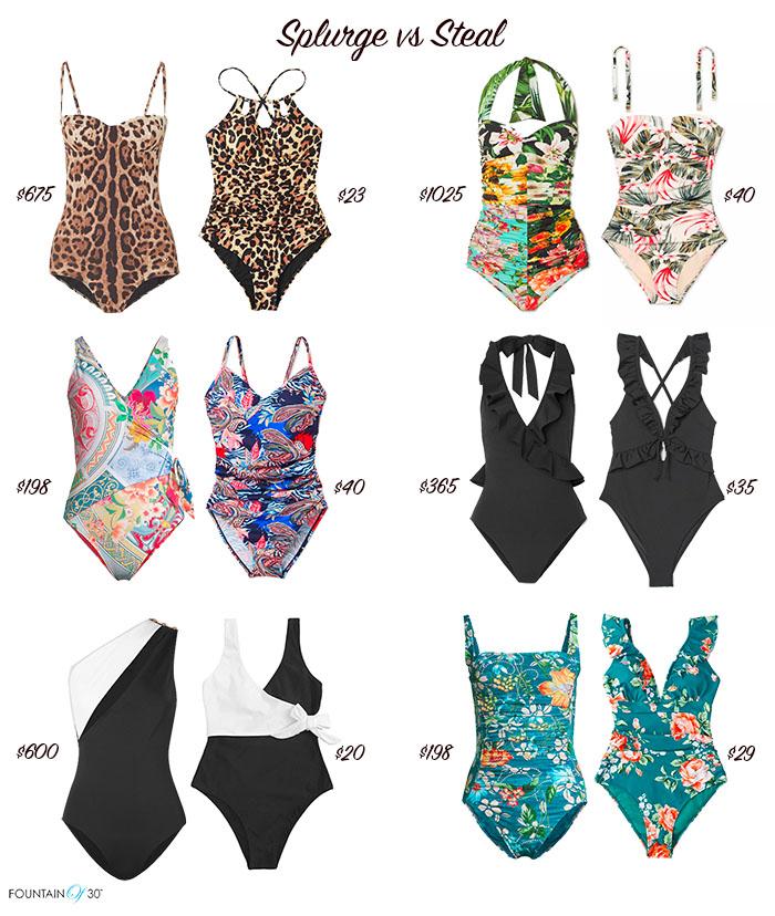 swimsuits splurge vs steal fountainof30