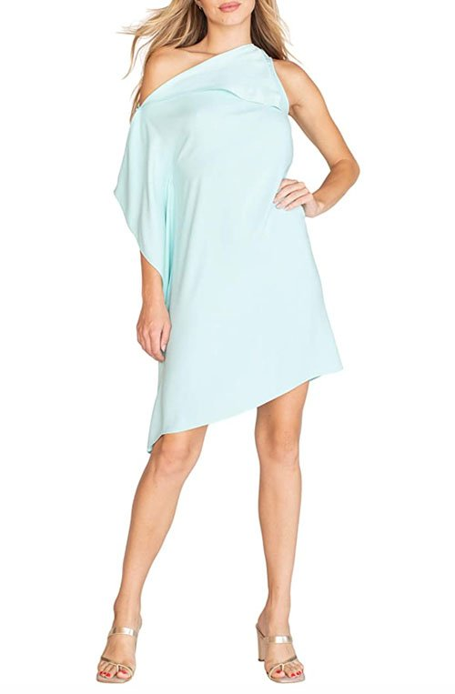 one shoulder dress well endowed over 40 fountainof30