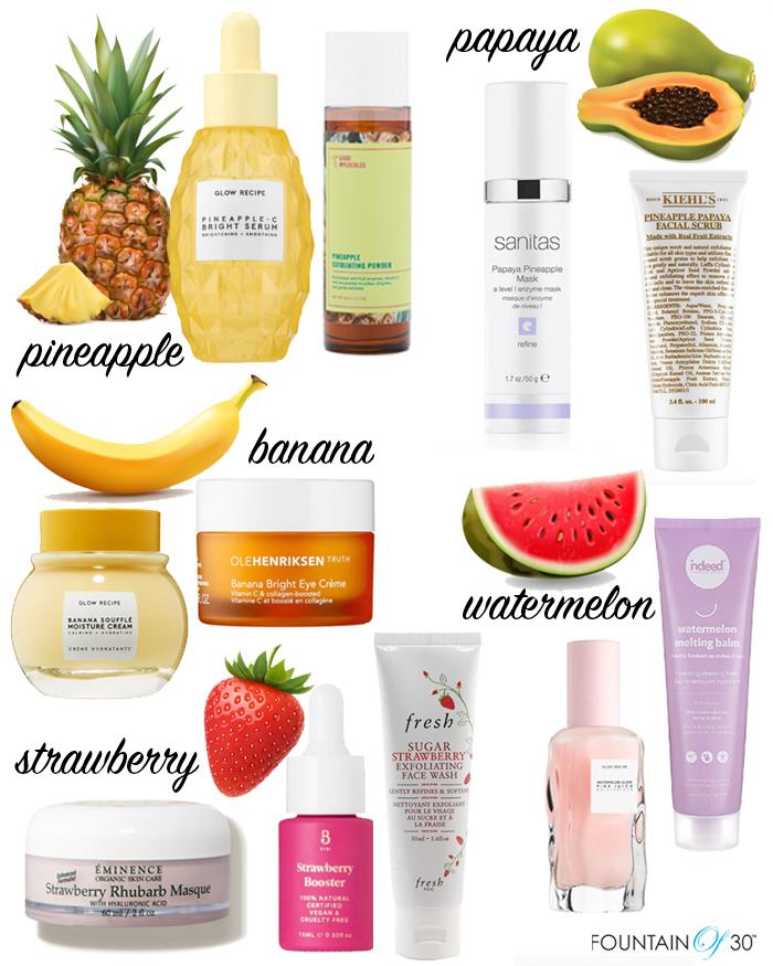 fruit skincare fountainof30