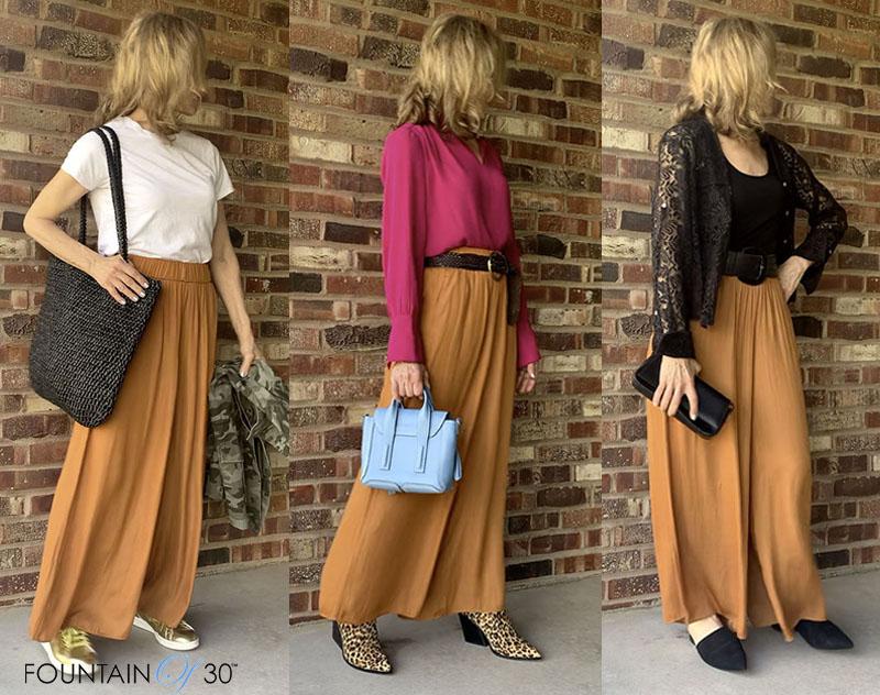 ways to wear palazzo pants fountainof30