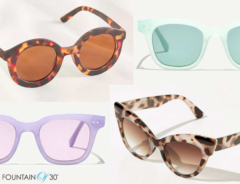 latest sunglasses trends for less fountainof30