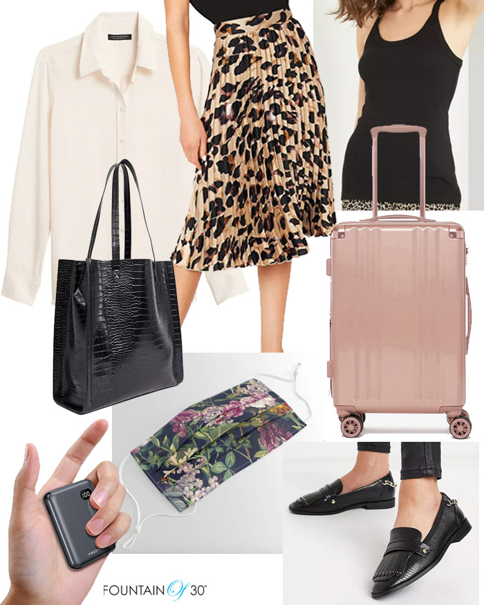 chic airport outfit for less fountainof30
