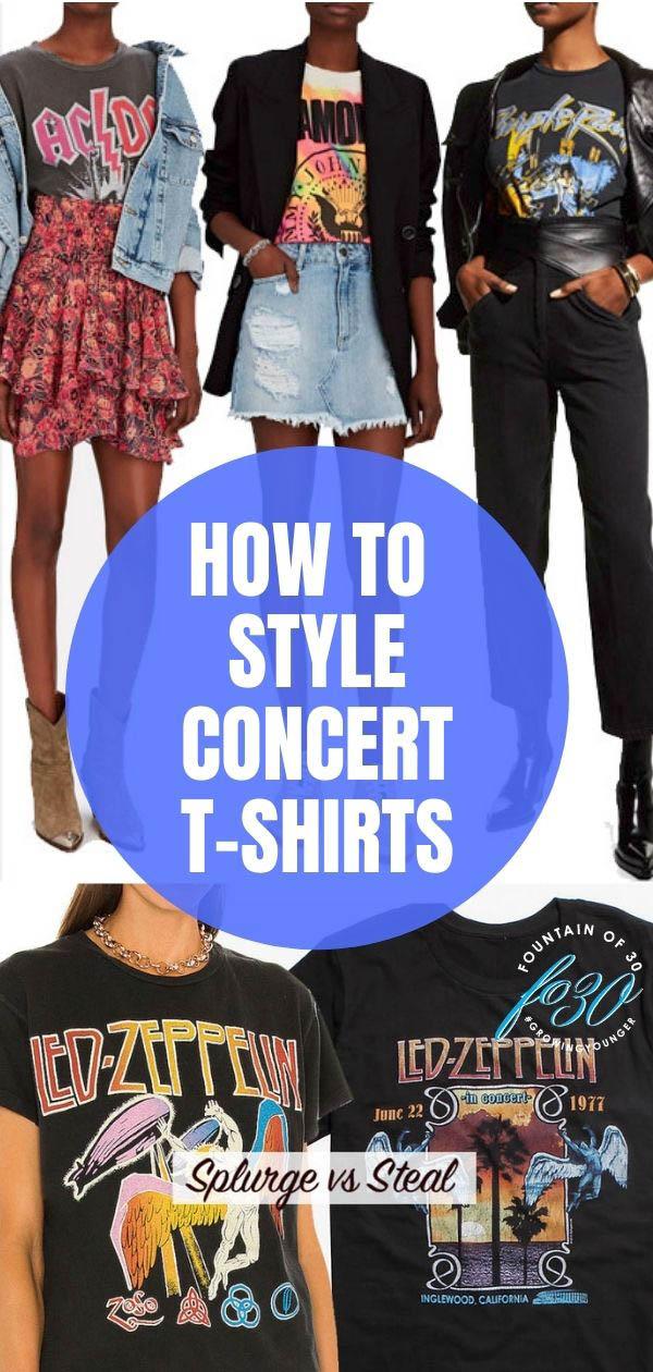 concert t-shirt styling fountainof30