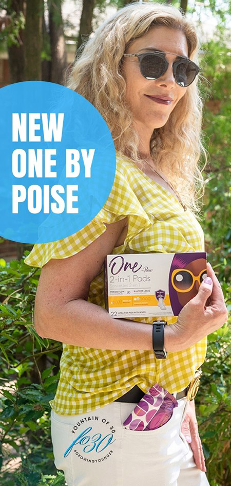 I am glad I discovered One by Poise® 2-in-1 Protection for Period Weeks and Bladder Leaks™ at Walmart. They keep you 10x drier from both period AND bladder leakage…which are two different problems that require coverage in two different ways. These pads cover all leaks in one. So just like you, they are a multi-tasker. Shop for them @Walmart or add them to your next pickup order and earn $3 back with Ibotta while supplies last! #sponsored #periodweeksandbladderleaks #onebypoise #poise @Poise