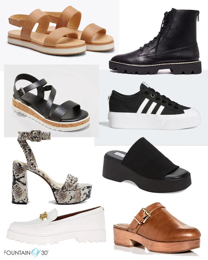 platform shoes for women over 40