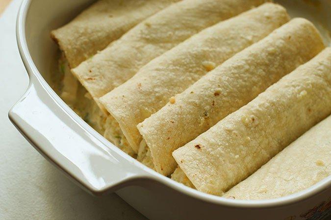 salsa verde chicken enchiladas b efiore baking fountainof30