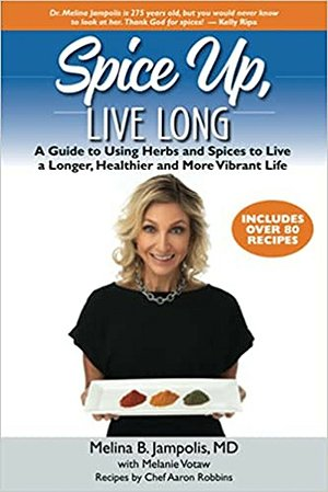 Spice Up, Live Long book cover fountainof30