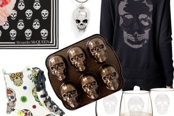 Fabulous Skull Symbol Fashion and Decor for Halloween and Beyond