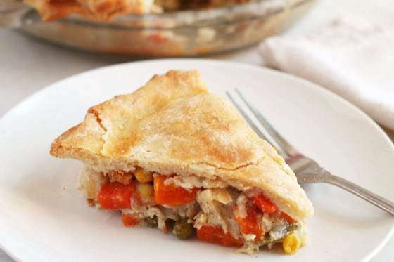 Gluten Free Chicken Pot Pie Keeps You Warm On A Chilly Day
