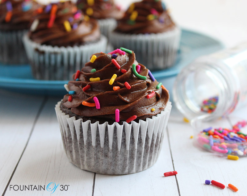 decadent chocolate cupcakes gluten-free from scratch fountainof30