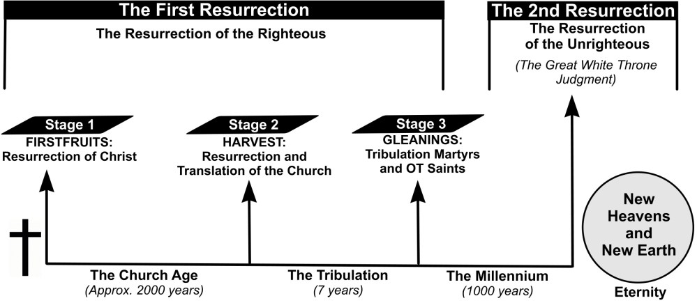 medium resolution of  and goat judgment here s a diagram explaining the three stages of the resurrection of the righteous as well as the resurrection of the unrighteous