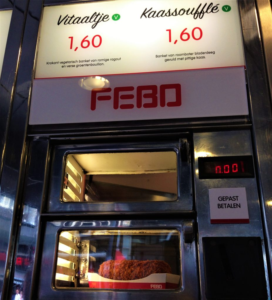 Fountain of Travel The Hague Febo Food