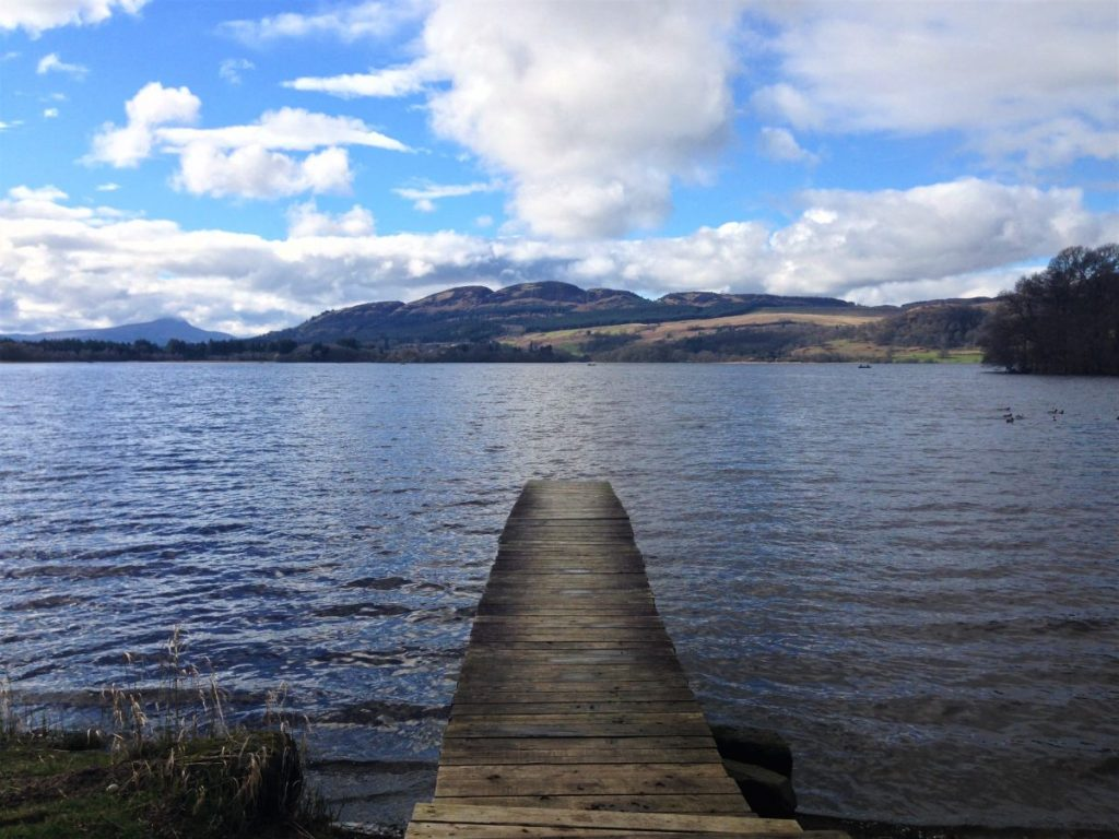Fountain of Travel 2017 Year Summary Lake Menteith
