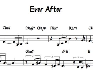 Ever After / Jesse Van Ruller Lead Sheet