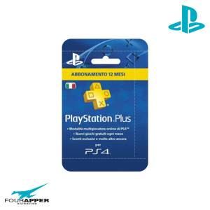 playstation plus 12 mounth