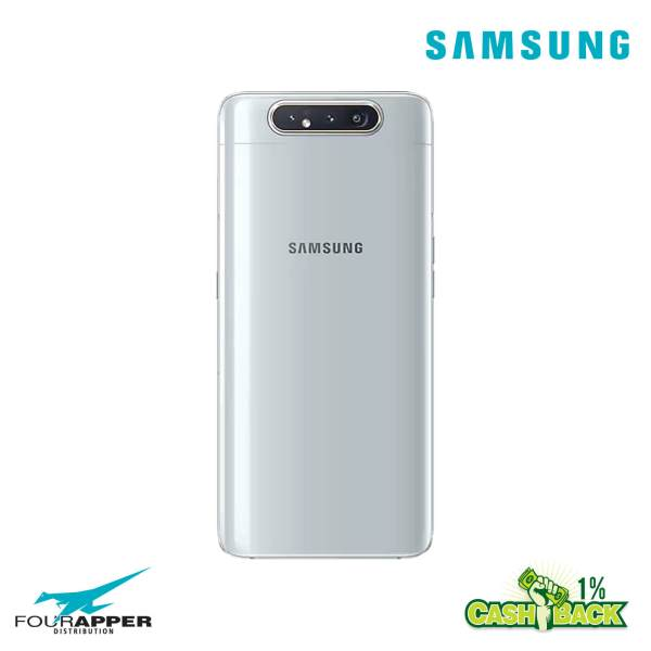 galaxy a80 GHOST WHITE back