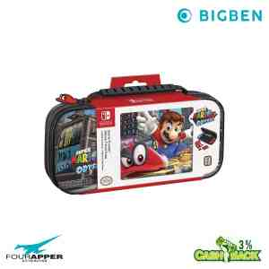 SWITCH BIGBEN GAME TRAVELER DELUXE TRAVEL CASE SUPER MARIO ODYSSEY