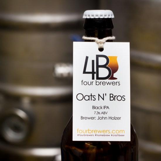 Oats N' Bros Black Oatmeal IPA