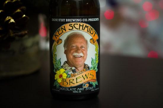 Ken Schmidt / Iron Fist Brewing Company Collaboration