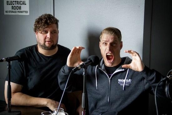 Brad Kominek (left) and Evan Price (right)