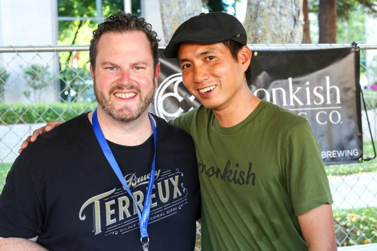 Patrick Rue of The Bruery and Henry Nguyen of Monkish Brewing Company