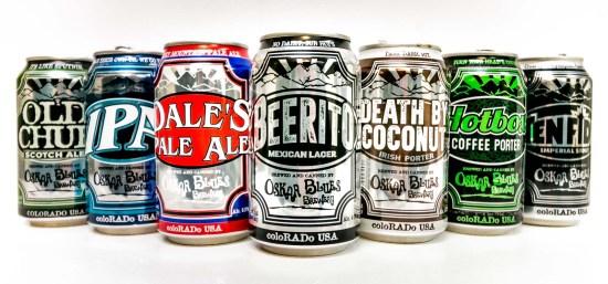 Oskar Blues Beers