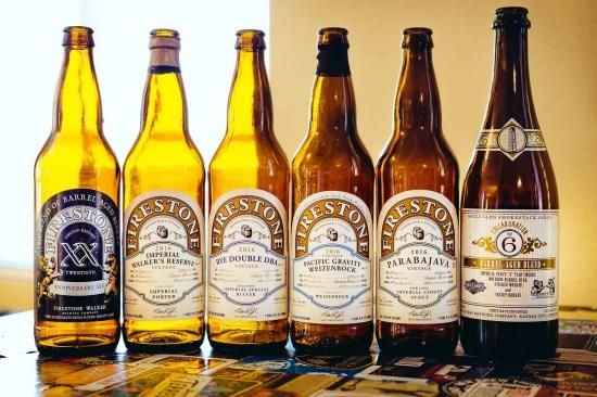 Firestone Walker and Boulevard Brewing Beers[