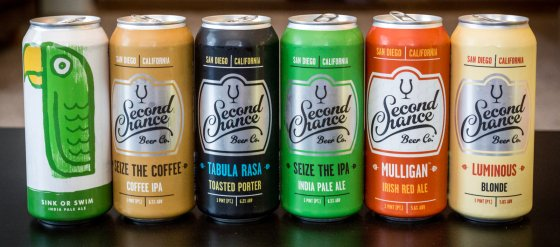 Beers From Green Cheek and Second Chance