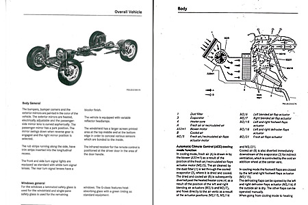 Mercedes C-Class Maintenance Manual