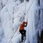 Climbing Closeup