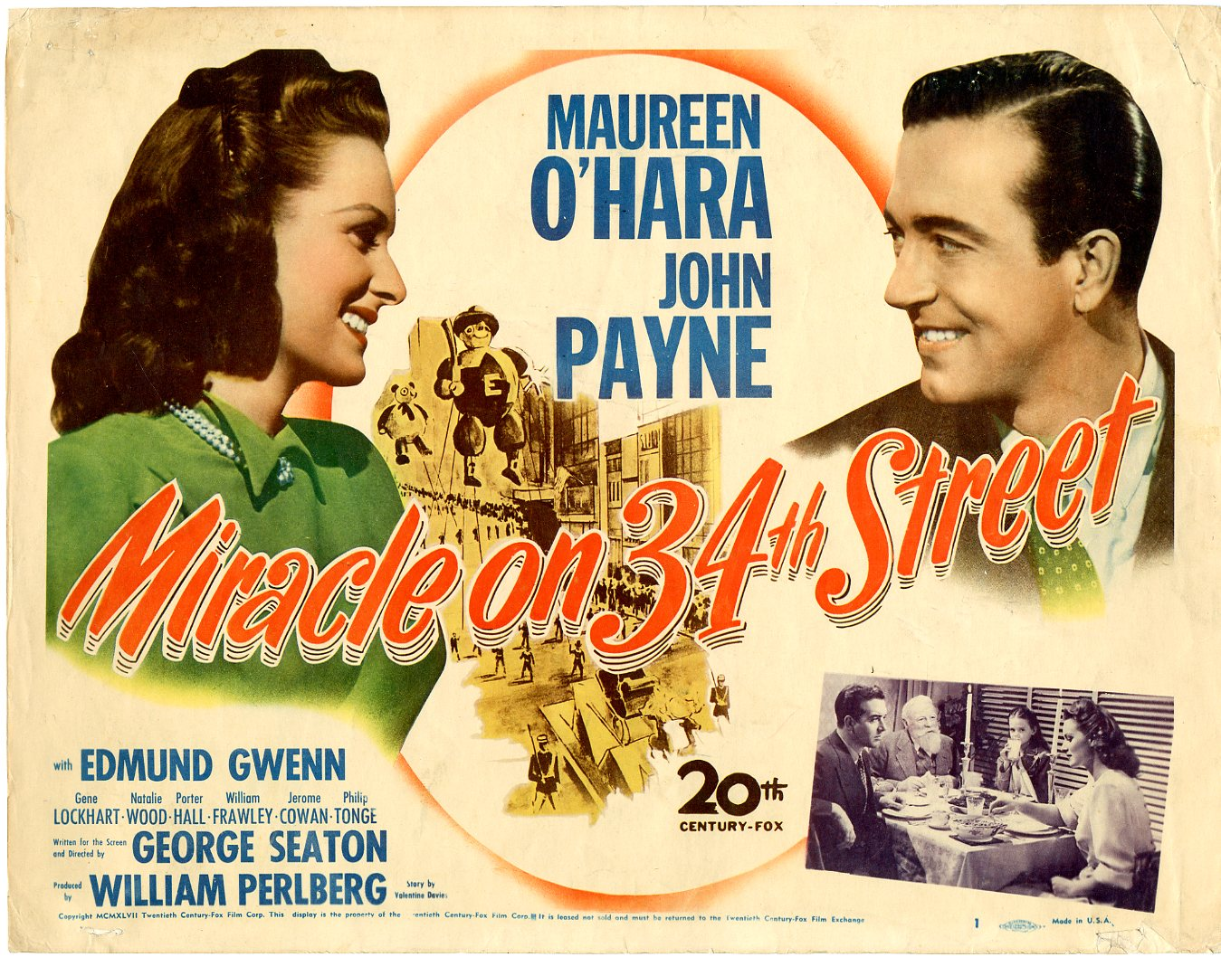 Miracle On 34th Street 1947 Issue 1 Sold Details