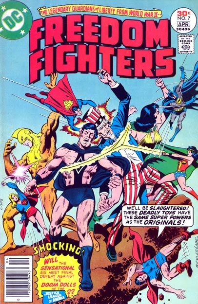 Freedom Fighters (1976) 7