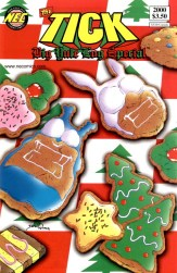 The Tick's Big Yule Log Special (1999) 1 (cookie cover variant)