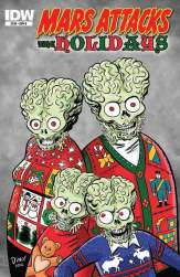Mars Attacks the Holidays (Cover B)