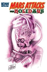 Mars Attacks the Holidays (Cover A)