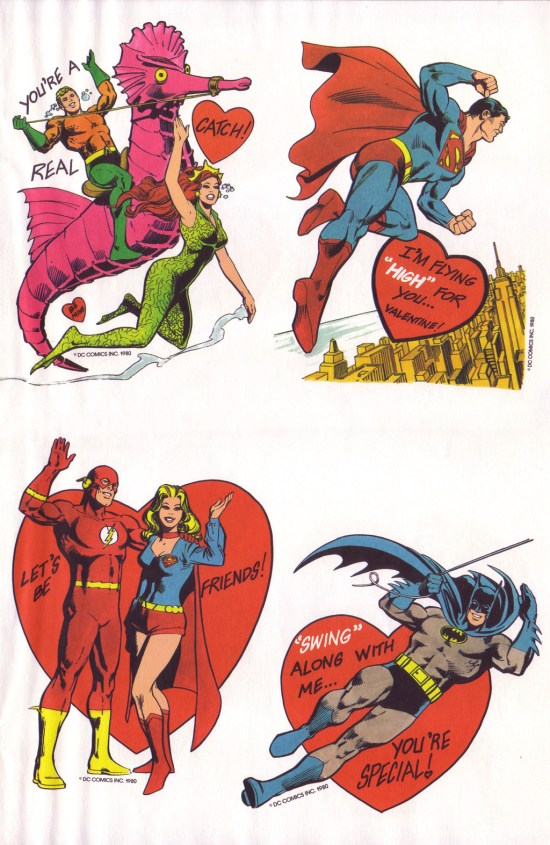 DC Valentine's Day Cards