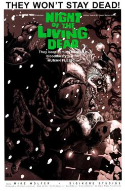 Night of the Living Dead Holiday Special (b&w variant) (2010)