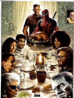 Deadpool Norman Rockwell