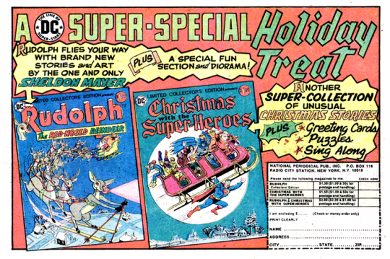 A DC Super-Special Holiday Treat