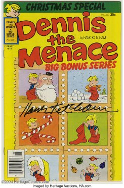 Dennis the Menace Bonus Magazine Series 183 (autographed)