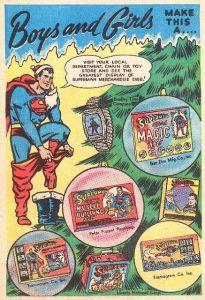 Vintage Superman Ad