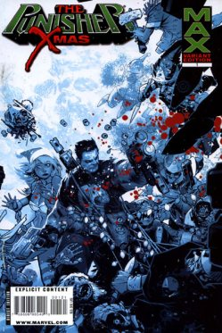 Punisher MAX X-Mas Special 1 Variant