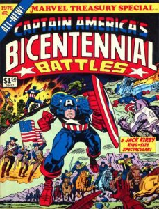 Marvel Treasury Special Featuring Captain America's Bicentennial Battles (1976) 1