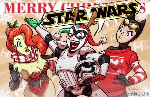 Merry Star Wars